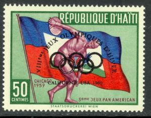 HAITI 1960 SQUAW VALLEY WINTER OLYMPICS Regular Issue Sc 451 MNH