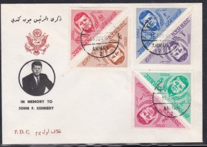 Jordan # 457-462, John F. Kennedy Memorial First Day Cover