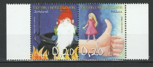 Bosnia and Herzegovina Croatian 2005 Characters from Fairy Tales 2 MNH stamps