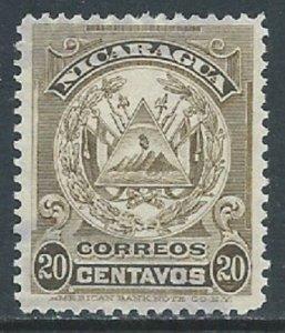 Nicaragua, Sc #245, 20c Used
