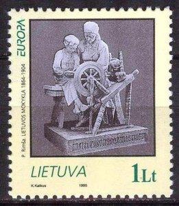 Lithuania 1995 Europa CEPT Peace and Freedom MNH