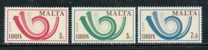 MALTA 1973 MNH SC.469/471 CEPT Europe