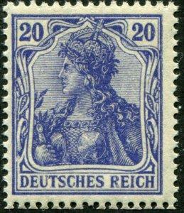 Deutsches Reich    Mi.# 87 I  MNH**