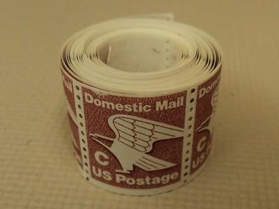 USPS Scott 1947 1981 C 20c Domestic Mail Eagle Brown 1 Ro...