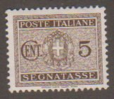 Italy J41 Coat of Arms 1946