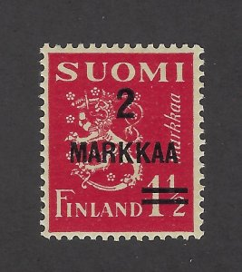 Finland Scott 212 Mint Never Hinged VF