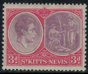 St. Kitts-Nevis #84a*  CV $16.00
