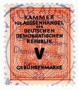 (I.B) East Germany Revenue : Foreign Bill (class 5)