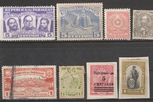 Paraguay Used Lot