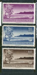Turkey #957-9 Mint