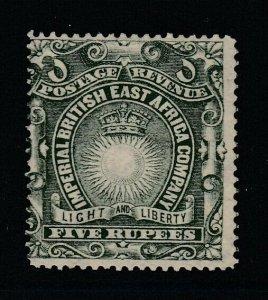 British East Africa, Sc 30 (SG 19), MNG (no gum)