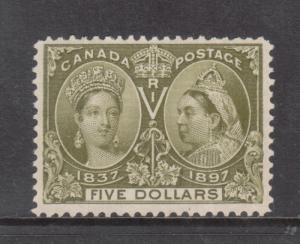 Canada #65 Very Fine Mint Unused No Gum