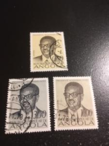 Angola sc 599,601,603 u