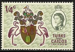 Turks and Caicos Islands 1969 Scott# 181 MH