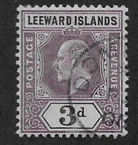 LEEWARD ISLANDS SC# 26  F/U 1902