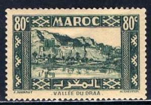 French Morocco 1942: Sc. # 163A; */MH Single Stamp