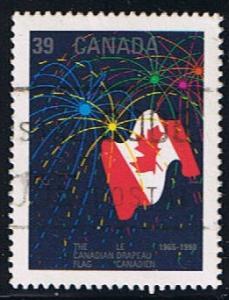 Canada #1278 Flag  VF Used