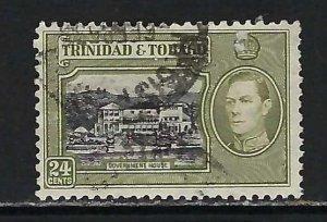 TRINIDAD &TOBAGO 58 VFU V735-1