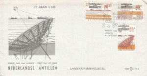 1978, Netherlands Antilles: Morse Ship to Shore Service, FDC (D12927)