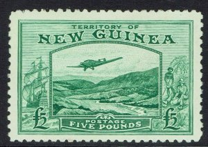 NEW GUINEA 1935 BULOLO AIRMAIL 5 POUNDS MNH **