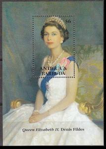 1993Antigua & Barbuda1788/B26040 years of the coronation of Elizabeth II