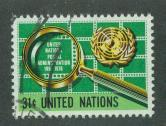 U.N. New York Scott 279 VF Used