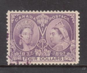 Canada #64 Extra Fine Used With Ideal Winnipeg Cancel **With Certificate**
