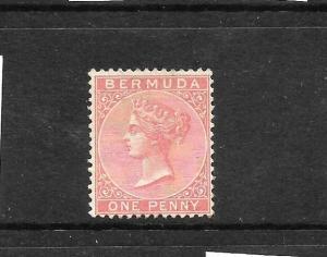 BERMUDA 1883-04  2d DULL ROSE QV  MLH   SG 22
