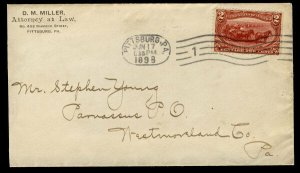 MALACK 286 F/VF, FIRST DAY COVER, w/PSE (02/01) CERT..MORE.. gg1653