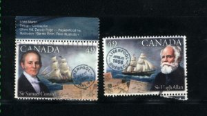 Canada #2041-42  -1  used VF 2004 PD