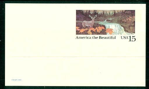 Ux133 America The Beautiful Postal Card Mint Hipstamp