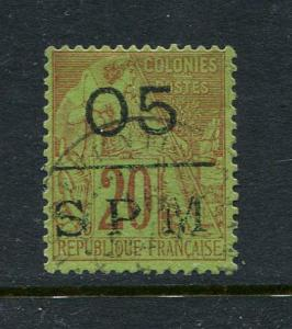 St Pierre & Miquelon #11 Used