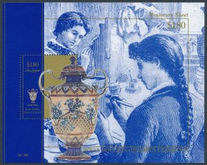 New Zealand 1993 Royal Doulton Minisheet SGMS1719 MNH