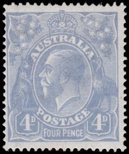 Australia Scott 33 (1922) Mint H F-VF, CV $67.50 M