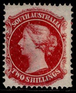 AUSTRALIA - South Australia QV SG43, 2s rose-carmine, M MINT. Cat £550.