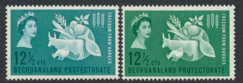 Bechuanaland  SG 182 Lightly Mounted Mint  shades