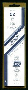 Showgard BLACK Strip Mounts Size 57 = 57 mm Fresh New Stock Unopened