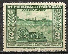 Paraguay; 1944: Sc. # C135: *+/MLH Single Stamp