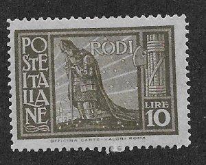 ITALY - RHODES SC# 23   FVF/MOG