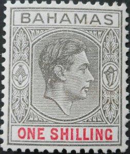 Bahamas 1938 GVI One Shilling SG 155 mint