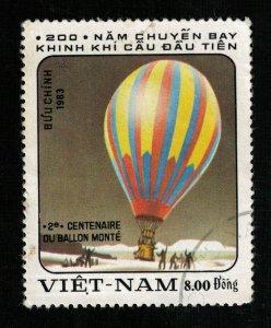Vietnam 1983, Balloon, 8.00Dong (ТS-248)