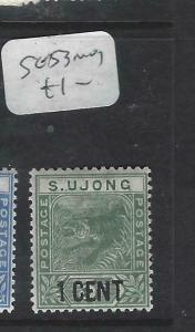 MALAYA SUNGEI UJONG  (P0704BB)  TIGER 1C/1C  SG 53  MOG
