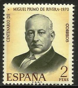 Spain 1970 Scott# 1610 MNH