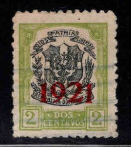 Dominican Republic Scott 228 Used coat of arms stamp