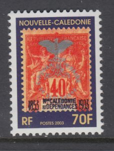 New Caledonia 913 MNH VF