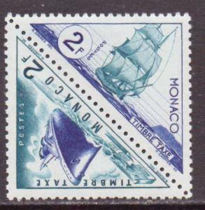 Monaco  #J40a  MLH  (1953)