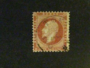 Norway #5 used perf 12x13 a198.9564