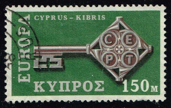 Cyprus #316 Europa CEPT; Used (1.25)