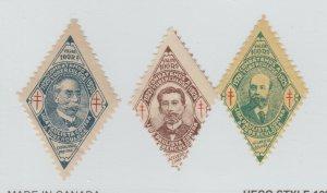 Brazil charity Cinderella stamp diamond shape- mint gum-5-06- as seen