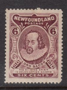 Newfoundland #92ai VF Mint WF Joined Variety